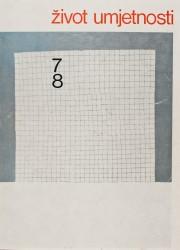 Život umjetnosti, 7-8, 1968, naslovnica / cover