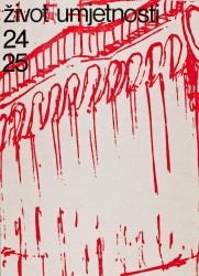 Život umjetnosti, 24-25, 1976, naslovnica / cover