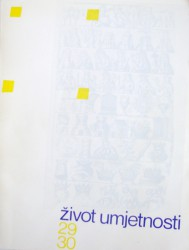 Život umjetnosti, 29-30, 1980, naslovnica / cover