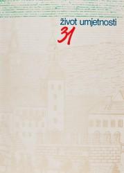 Život umjetnosti, 31, 1981, naslovnica / cover