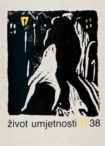 Život umjetnosti, 37-38, 1984, naslovnica / cover
