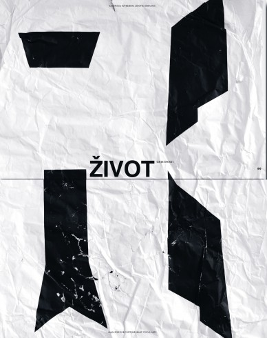 Život umjetnosti, 86, 2010, naslovnica / cover