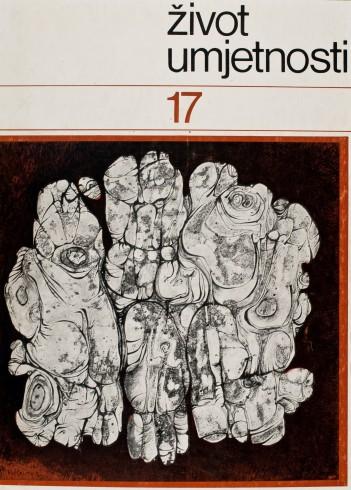Život umjetnosti, 17, 1972, naslovnica / cover