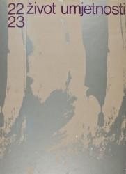 Život umjetnosti, 22-23, 1975, naslovnica / cover