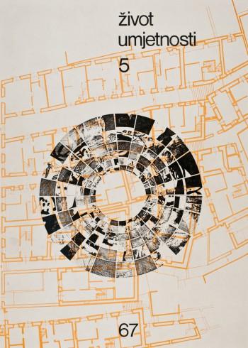 Život umjetnosti, 5, 1967, naslovnica / cover