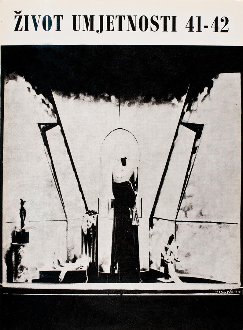 Život umjetnosti, 41-42, 1987, naslovnica / cover