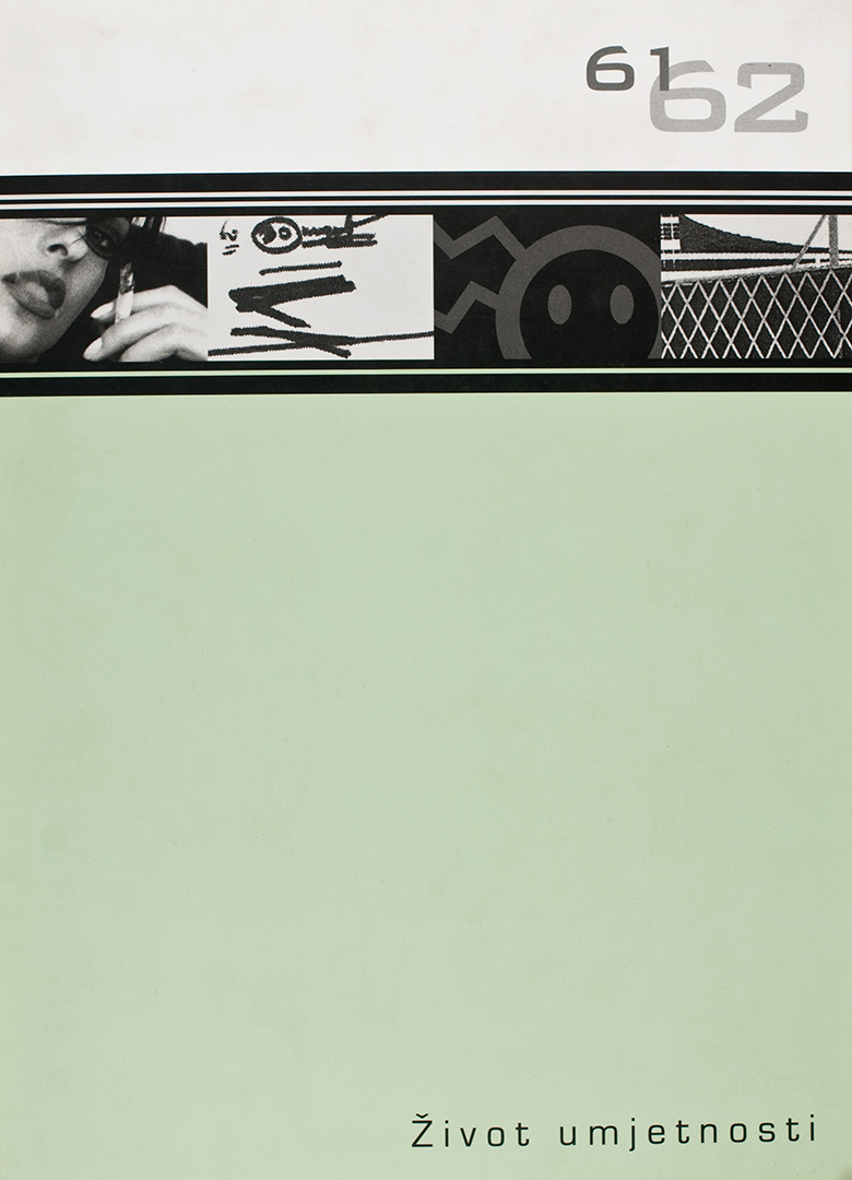 Život umjetnosti, 61-62, 1999, naslovnica / cover
