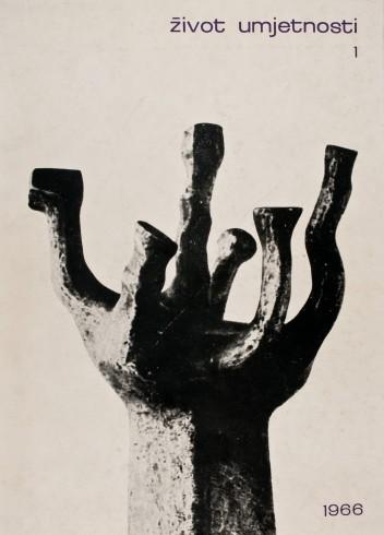 Život umjetnosti, 1, 1966, naslovnica / cover