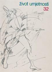 Život umjetnosti, 32, 1981, naslovnica / cover