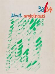 Život umjetnosti, 33-34, 1982, naslovnica / cover