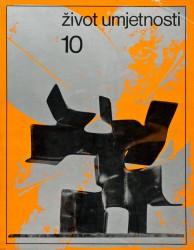 Život umjetnosti, 10, 1969, naslovnica / cover