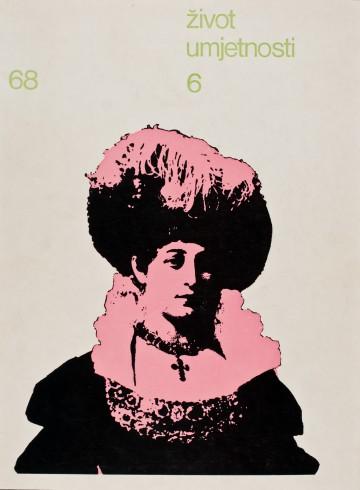 Život umjetnosti, 6, 1968, naslovnica / cover