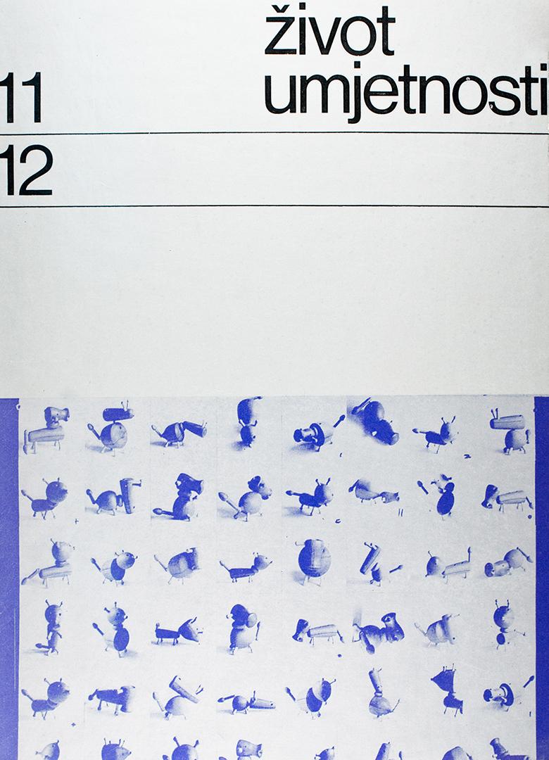 Život umjetnosti, 11-12, 1970, naslovnica / cover