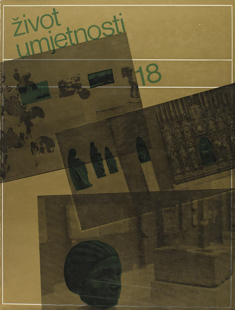 Život umjetnosti, 18, 1972, naslovnica / cover