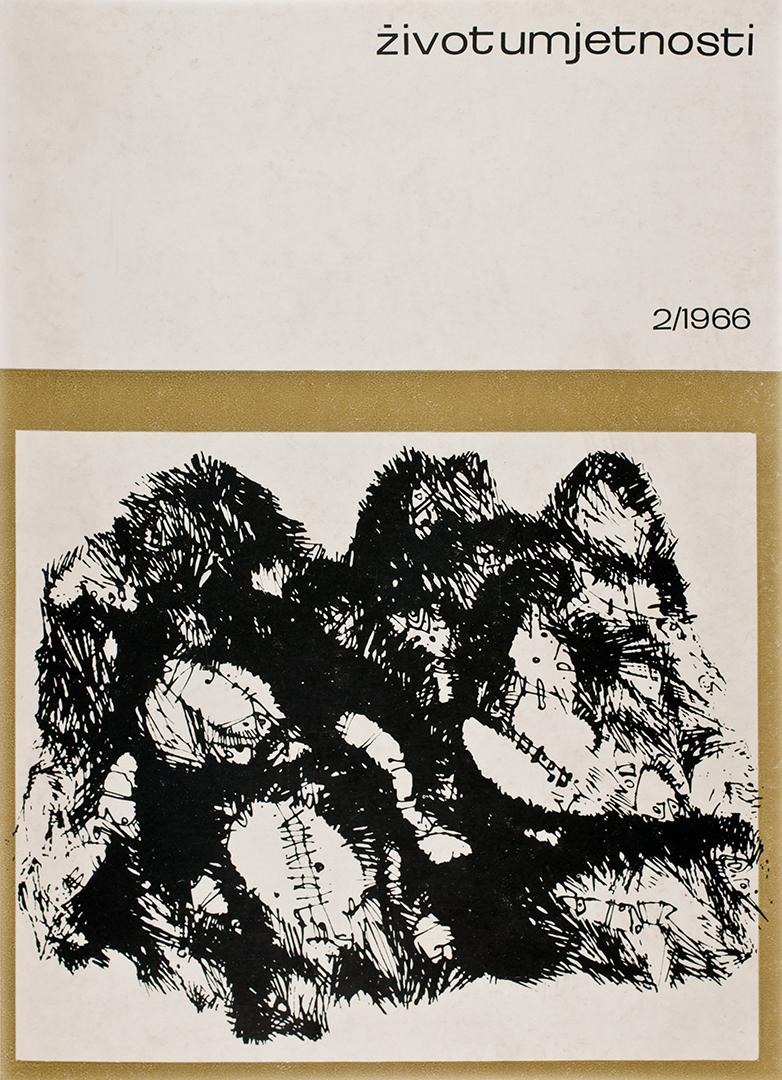 Život umjetnosti, 2, 1966, naslovnica / cover